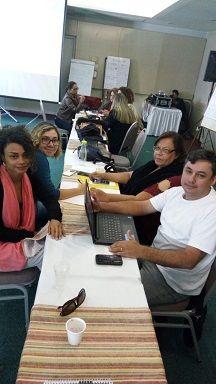 Capacitação dos funcionários do Projeto Abraço e CMDCA em Curitiba