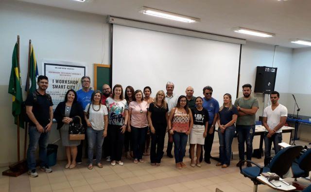 Aquidauana sedia 1º Workshop sobre Smart City - Cidade Inteligente
