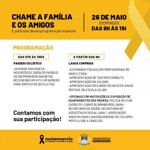 Domingo, 26, tem passeio ciclístico, sorteios, oficinas e atividades na Lagoa Comprida