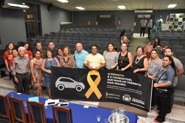 Prefeitura de Aquidauana inicia as ações da Semana Nacional de Trânsito