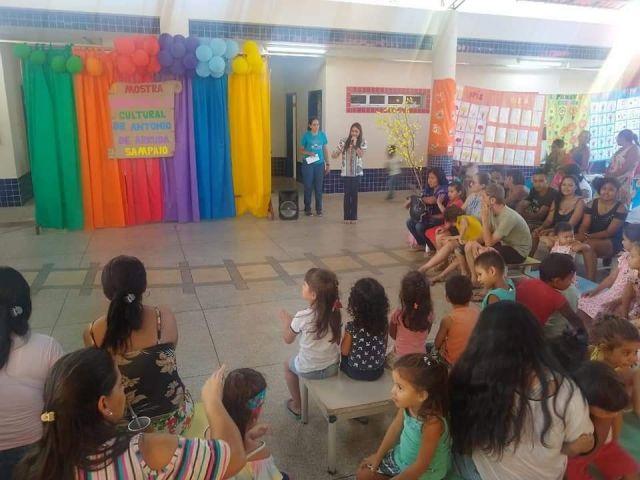 Mostra Cientifica e Cultura do CMEI DR. Antônio de Arruda Sampaio foi um sucesso