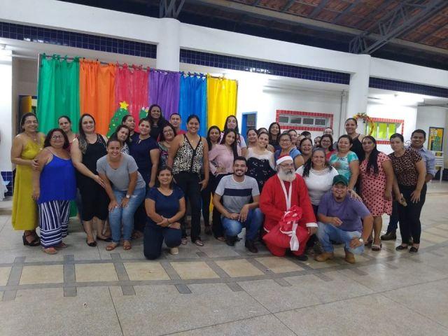 CMEI Dr. Antônio de Arruda Sampaio realizou festa de confraternização