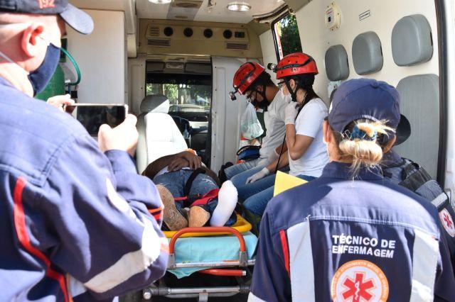 CORONAVÍRUS  SAMU treina enfermeiros e técnicos para apoio aos atendimentos de urgência