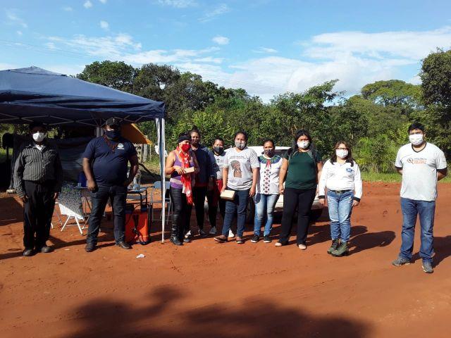 CORONAVÍRUS| Vigilância Sanitária orienta indígenas sobre controle sanitário nas aldeias