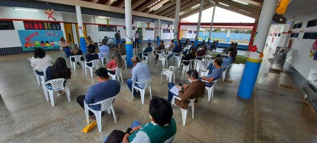 CORONAVÍRUS| Comitê de Enfrentamento ao Covid-19 se reúne para avaliar situação do município