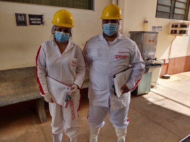 CORONAVÍRUS| Saúde do Trabalhador vistoria instalações no frigorífico Buriti em Aquidauana