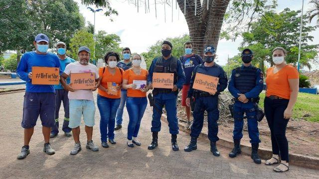 SOCIEDADE Prefeitura de Aquidauana alerta para o fim da violência contra a mulher