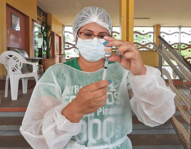 COVID  Dias 14 e 15/06 tem vacinação para 38 e 37 anos e grupos prioritários em Aquidauana